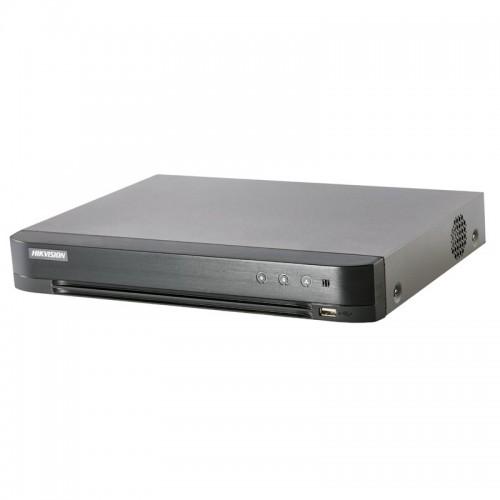 ПЕНТАБРИДЕН 8+2 канален HD-CVI,HD-TVI,AHD,IP 3.0 Mpx рекордер HIKVISION