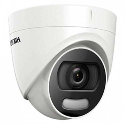 2.0Mpx Full HD Куполна Камера Вградено осветление HIKVISION DS-2CE72DFT-F