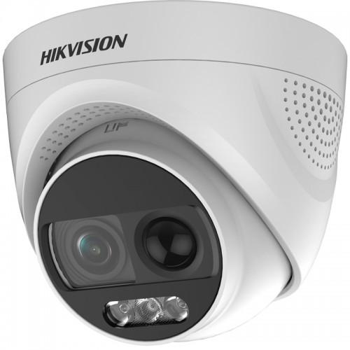 ColorVu PIR Вградена Светлина 2.0Mpx Куполна Камера HIKVISION DS-2CE72DFT-PIRXOF DS-2CE72DFT-PIRXOF
