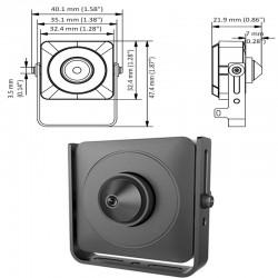 IP Мини Камера Hikvision DS-2CD2D21G0-D-NF