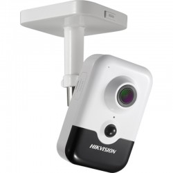 IP 4.0Mpx Wi-Fi Вграден Микрофон Куб Камера HIKVISION DS-2CD2443G0-IW