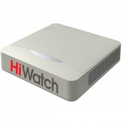 4-канален HD-TVI/AHD/CVI Видеорекордер HiWatch DS-H104G - до HD 720p резолюция