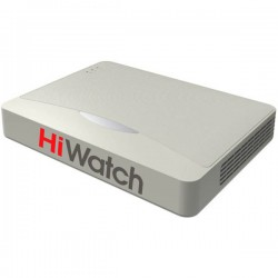 16-канален HD-TVI/AHD/CVI Видеорекордер HiWatch DS-H116G - до HD 720p резолюция