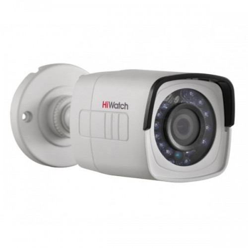 HD-TVI Булет Камера HiWatch DS-T200-F, HD 1080p резолюция, 2.8mm обектив, IR 20m