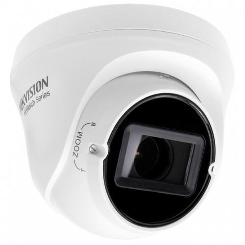 4.0Mpx 4в1 TVI/AHD/CVI/CVBS VF 2.8mm ~ 12mm Куполна Камера HIKVISION HiWatch HWT-T340-VF
