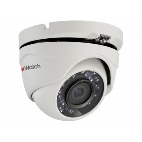 HD-TVI Куполна Вандалоустойчива Камера HiWatch DS-T103, HD 720p резолюция, 2.8mm обектив, IR 20m