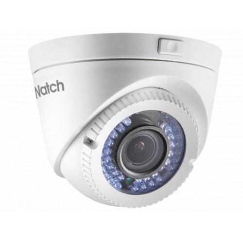 HD-TVI Куполна Варифокална Камера HiWatch DS-T119, HD 720p резолюция, 2.8-12mm обектив, IR 40m