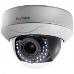 HD-TVI Куполна Варифокална Камера HiWatch DS-T227, HD 1080p резолюция, 2.8-12mm обектив, IR 30m