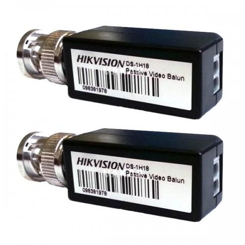 Чифт Видео Балуни за пренос на HD-TVI сигнал по усукана двойка (FTP/UTP), пасивни