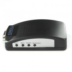 BNC към VGA преобразувател (конвертор) на видео сигнал