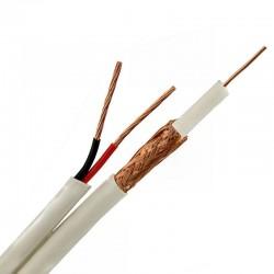 Комбиниран кабел за охранителни камери RG59 + 2x0,75mm