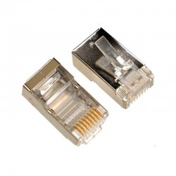 RJ45 Shielded Екраниран конектор за LAN кабел FTP/UTP