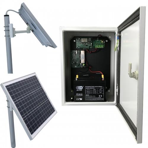 4G Захранваща соларна система с UPS SWP-50W-24A4G5P