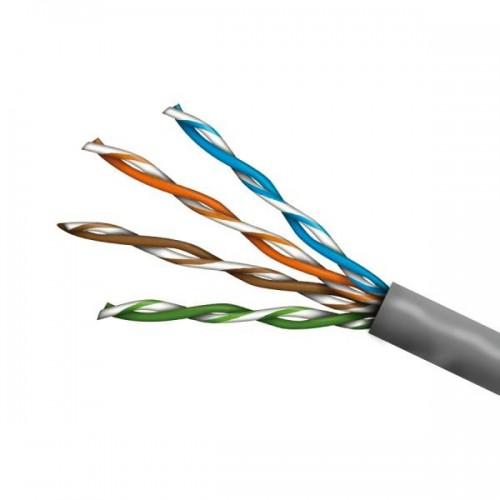 UTP кабел за пренос на захранване и видеосигнал по усукана двойка