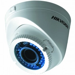 HD-TVI / CVBS Варифокална Куполна Камера Hikvision, HD 720p резолюция, IR 40m