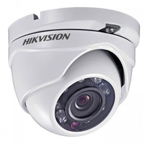 4 в 1 HD-TVI/AHD/CVI/CVBS Куполна Вандалоустойчива Камера Hikvision, HD 720p, 2.8mm, IR 20m