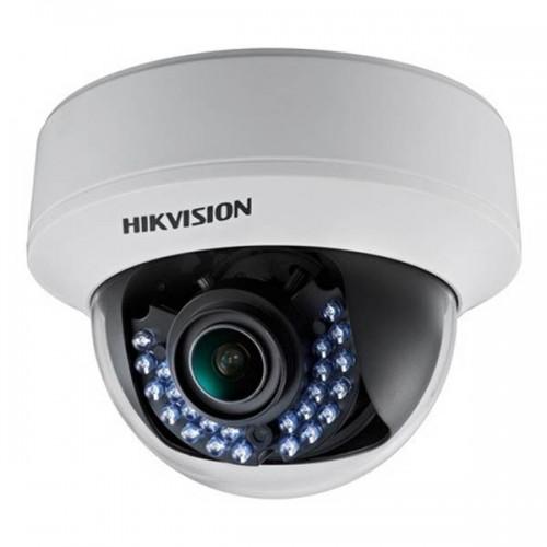 HD-TVI Варифокална Куполна Камера Hikvision, FULL HD 1080p резолюция, IR 40m