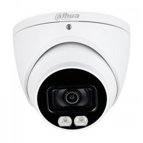 Куполна Камера с Бяла LED светлина до 40м DAHUA  HDW1239T-A-LED-0360