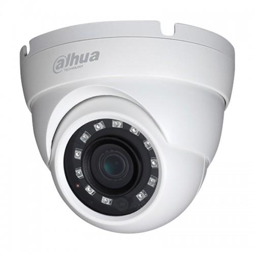5.0Mpx Водоустойчива IR 30m Водоустойчива Куполна Камера DAHUA HAC-HDW1500M-0280B