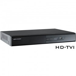 HD-TVI Видеорекордер, ПЕНТАБРИД, 16-канален, Hikvision - 400fps@hd720p