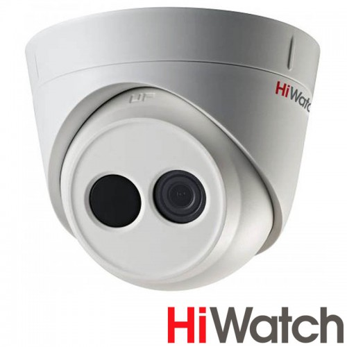IP Куполна Камера Hiwatch DS-I213, HD 1080p резолюция, 2.8 mm обектив, IR 10m
