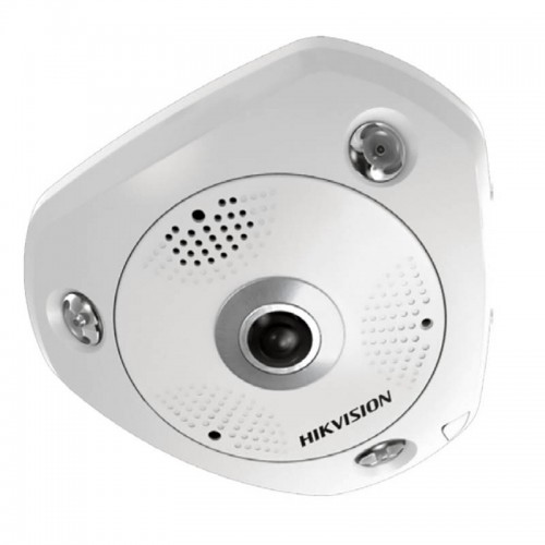 IP 12.0Mpx FISH-EYE 360° Куполна Камера Hikvision DS-2CD63C2F-I