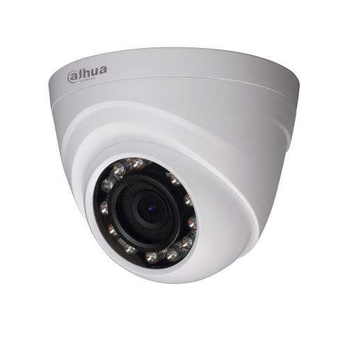 1.0 Mpx HD-CVI Куполна Камера Dahua HAC-HDW1100R, 3.6 mm, IR 20m