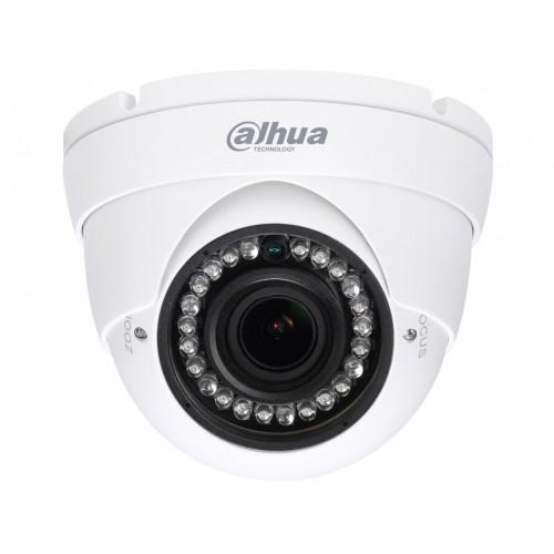 1.0 Mpx HD-CVI Куполна Варифокална камера Dahua HAC-HDW1100R-VF, IR 30m
