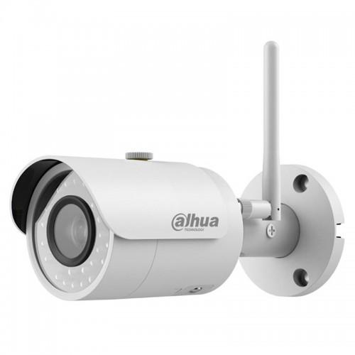 Wi-Fi Безжична IP 4.0Mpx IR 30m Булет Камера Dahua IPC-HFW1435S-W-0280B-S2