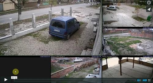 демо клип hd-tvi камери и рекордери